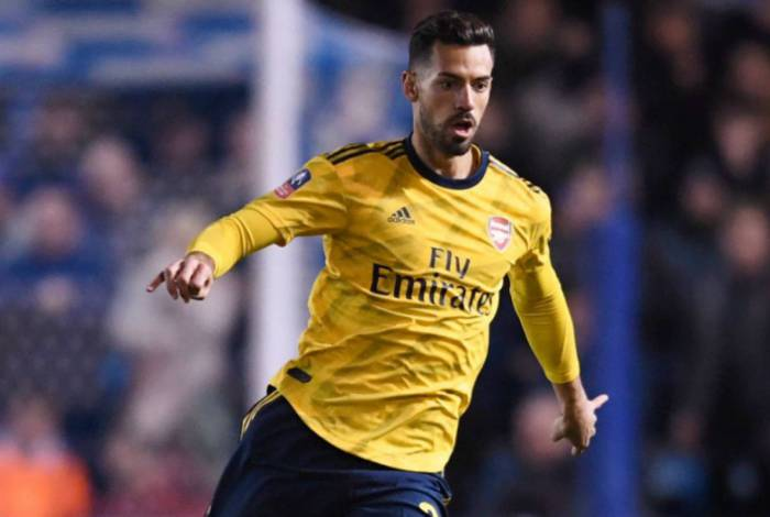 Pablo Marí tornou-se titular do Arsenal nos dois últimos jogos antes da para mundial por causa da pandemia