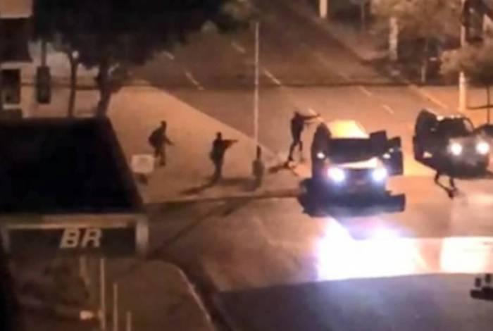 Bandidos assaltam agência bancária em Ourinhos, interior de São Paulo