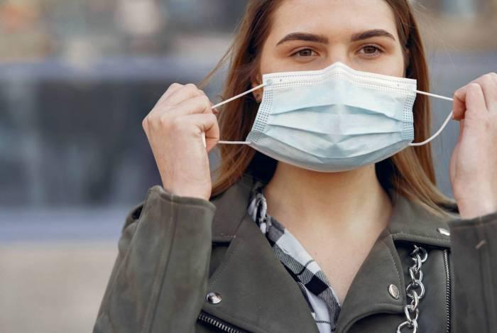 O uso da máscara não gera falta de ar