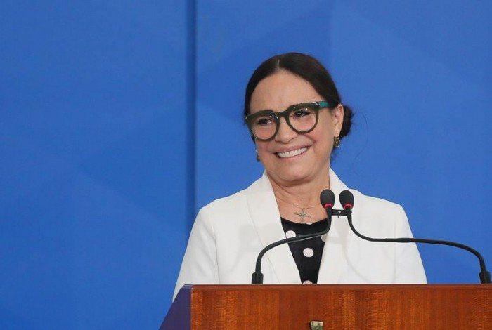 Cerimonia de  posse da no Secretária Especial da Cultura do Ministério do Turismo, Regina Duarte