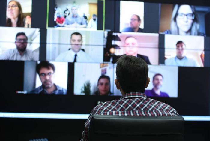 O lançamento do Fomenta Maricá foi definido após reunião por videoconferência envolvendo o prefeito Fabiano Horta, o secretário Igor Sardinha e membros da AgeRio