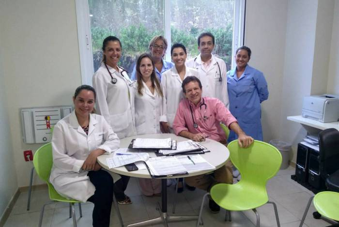 Equipe do setor coronariano do Hospital de Icaraí: risco controlado