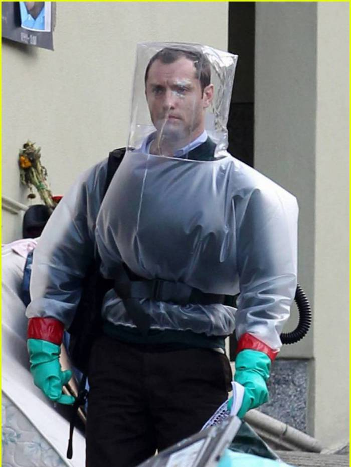 San Francisco, CA - Part 2 - English actor Jude Law continues filming his latest movie