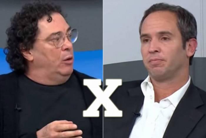 Casagrande e Caio Ribeiro se estranharam durante o 'Bem, Amigos! desta segunda-feira (4)