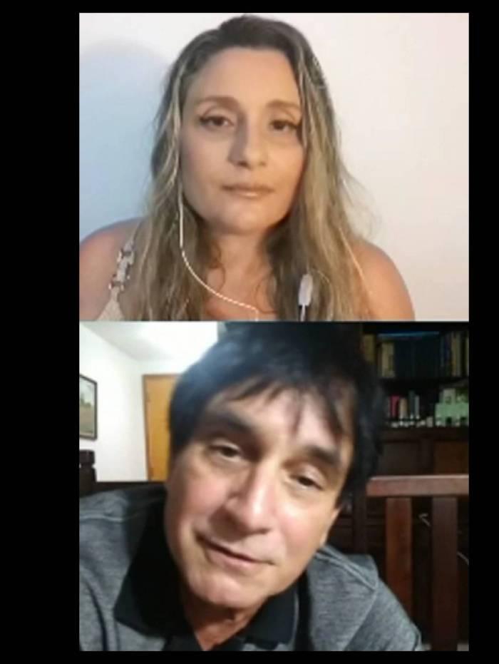 Byafra conversou por quase uma hora com a jornalista Irma Lasmar na quarta à noite