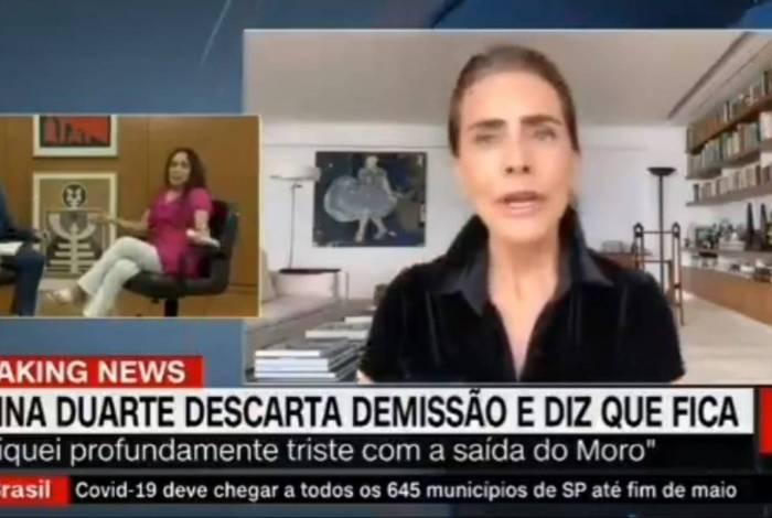 Regina Duarte se irrita ao ver vídeo de Maitê Proença