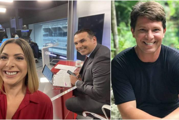 Daniela Lima e Reinaldo Gottino ironizaram a entrevista de Mário Frias
