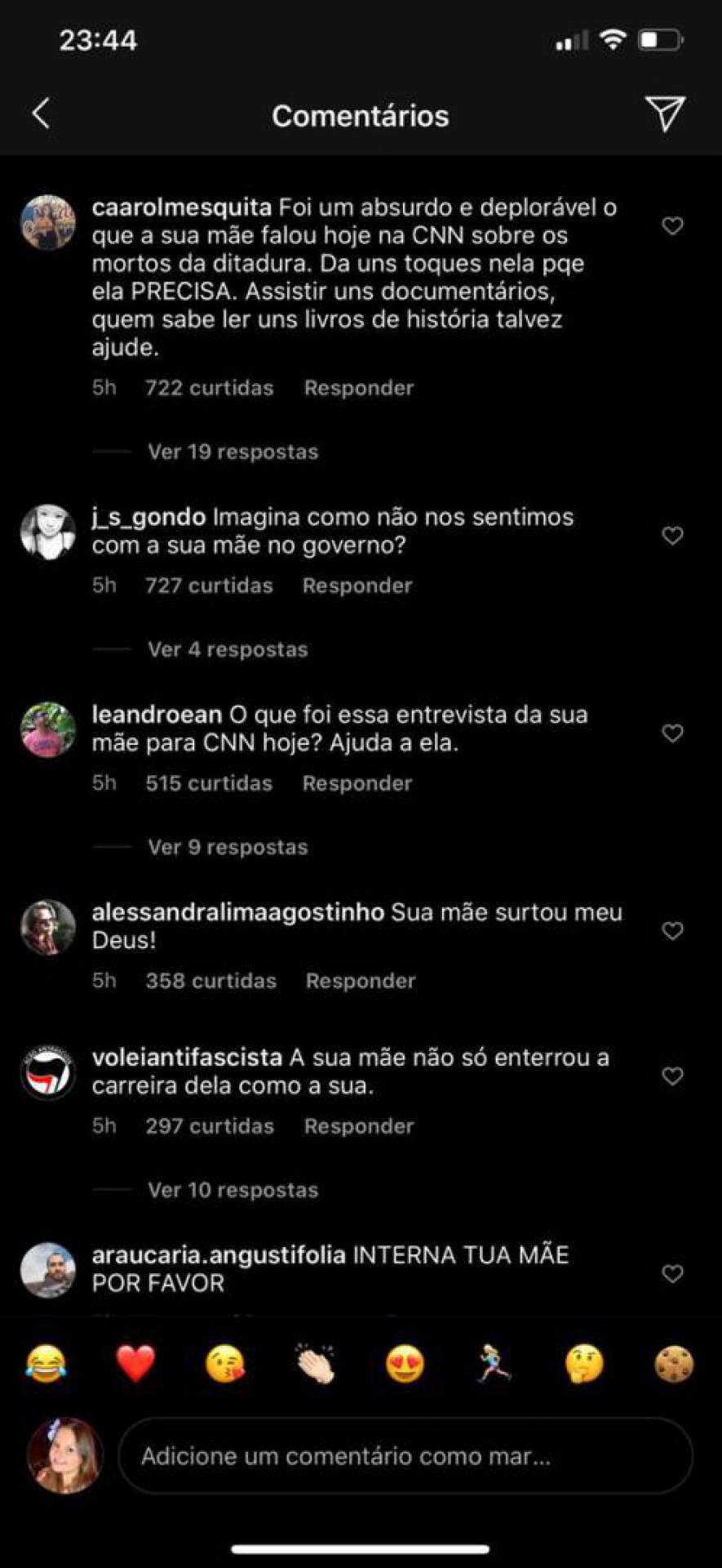 Fãs pedem que Gabriela Duarte 'interdite' a mãe, Regina