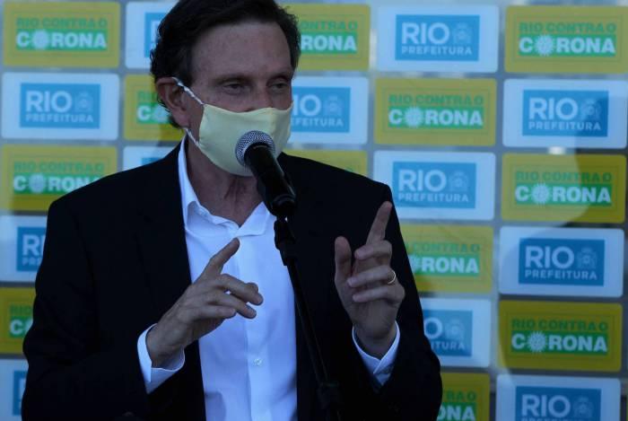 Governo do prefeito Marcelo Crivella adotou teletrabalho para algumas categorias; servidores terão suspensão temporária do vale-transporte
