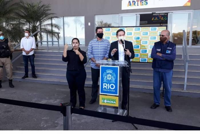 Crivella anuncia medidas restritivas
