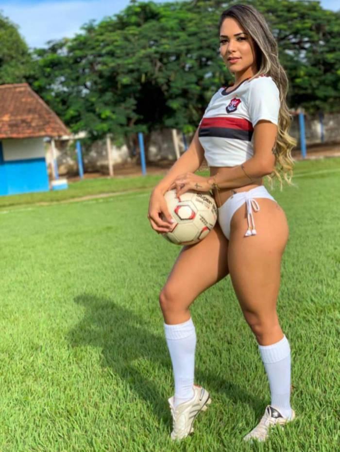 Núbia Dias, Musa do Flamengo