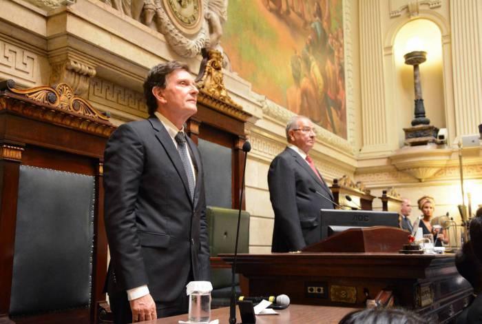 Crivella deve enviar a proposta à Câmara Municipal, presidida por Jorge Felippe (DEM), após as eleições