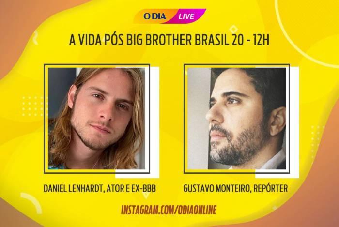 Daniel será o próximo participante da live do jornal O DIA, nesta sexta-feira (15/5), a partir das 12h