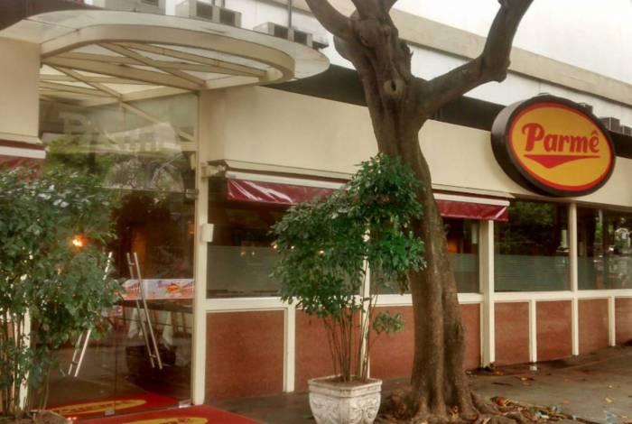 Pizzaria Parmê, no Largo do Machado, Zona Sul