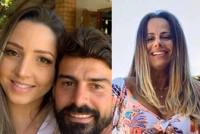 Radamés Martins e Caroline Furlan x Viviane Araújo