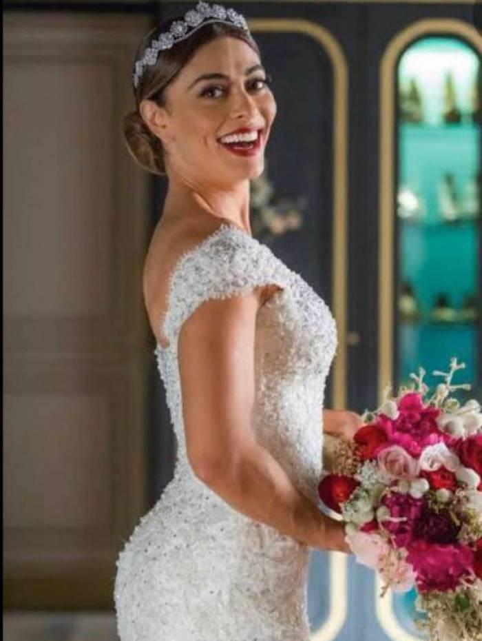 Sorteio do vestido usado pela atriz Juliana Paes em A Dona do Pedaço