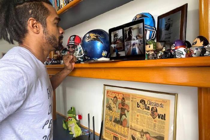 Bruno Rosa promove aulas de ginástica gratuitas pela Internet