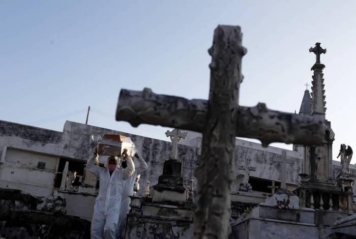 Contagem baseada em sepultamentos poderia falsear realidade