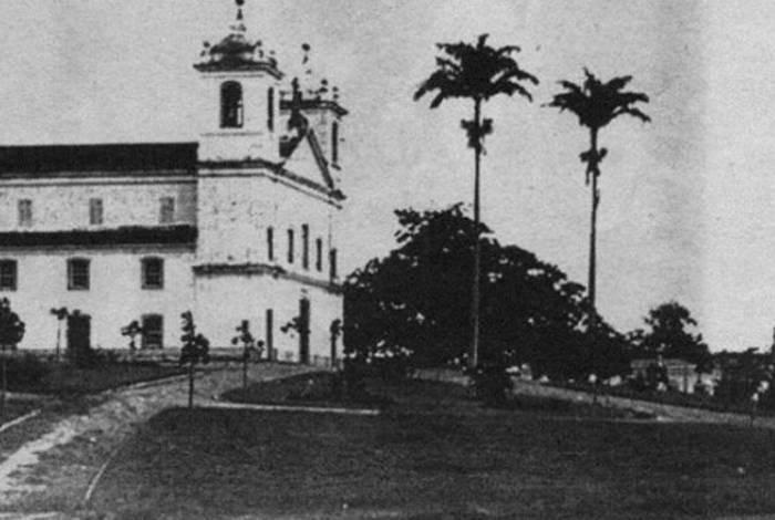 Matriz de Nossa Senhora do Desterro de Campo Grande - aprox. década de 1900