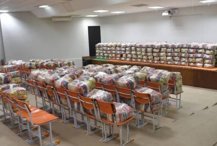 Os kits já estão disponíveis nas unidades escolares