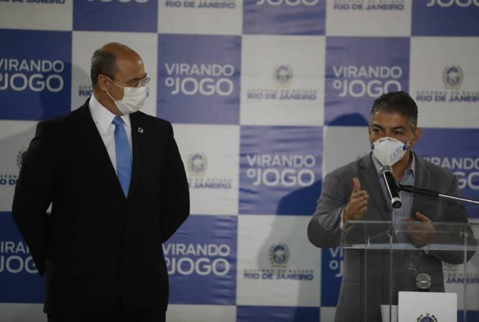 Witzel apresenta Fernando Ferry, novo secretário de Saúde