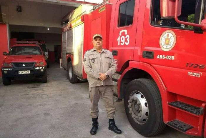 Alexandre de Souza Couto servia há 29 anos no Corpo de Bombeiros