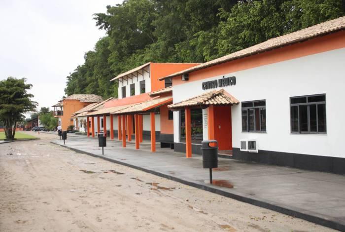 CT do Nova Iguaçu tem ficado vazio sem atividades por causa do isolamento social