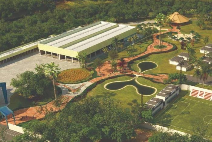 Obra no Jardim Botânico de Volta Redonda avança durante a pandemia