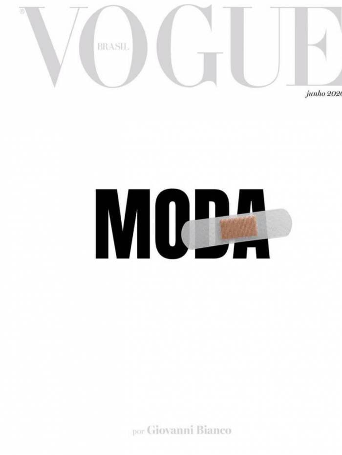 Capa de junho da Vogue Brasil
