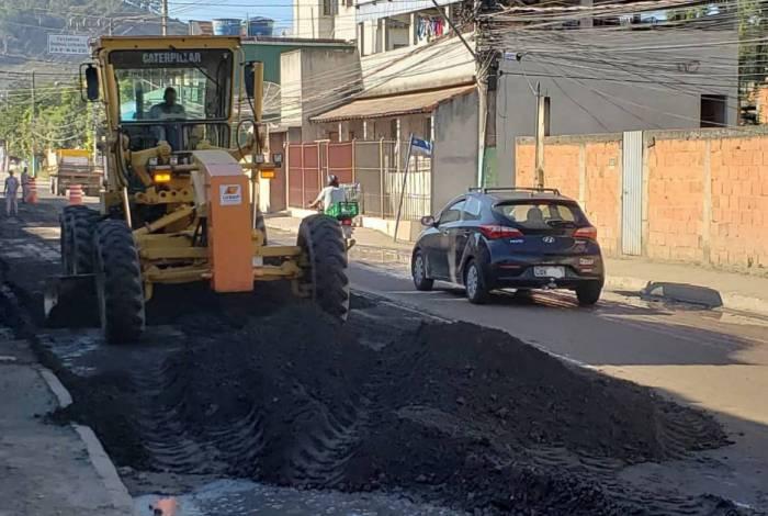 Avenida Paulo Erlei, no bairro Três Poços, será interditada nesta sexta-feira, dia 22