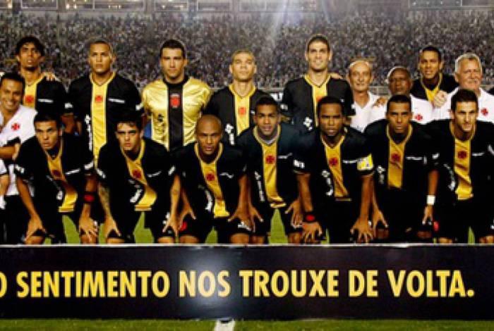 Vasco disputou a Série B pela primeira vez em 2009