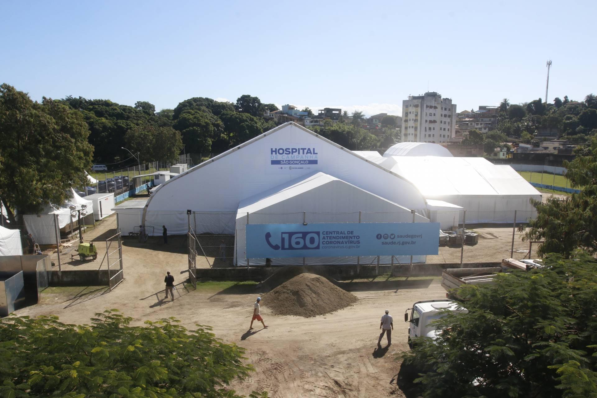 Inauguração dos hospitais de campanha é adiada no Rio O Dia - Rio ...