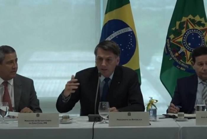Vídeo do Bolsonaro falando de Sérgio Moro