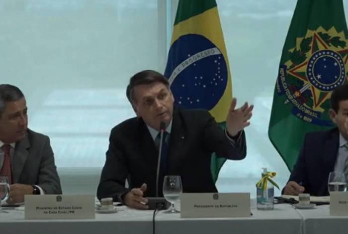 Vídeo de Bolsonaro falando de Sérgio Moro