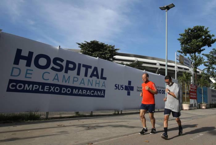 Hospital de campanha do Maracanã dispõe de 400 leitos para Covid-19