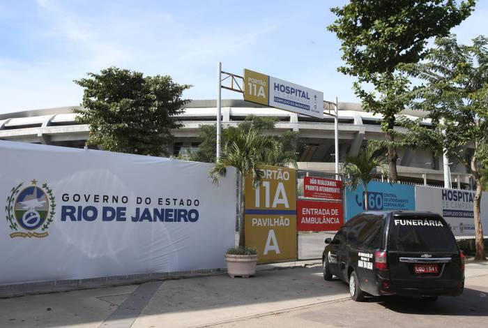 Hospital de campanha do Maracanã foi entregue completo somente ontem. É o único da OS Iabas em funcionamento até agora