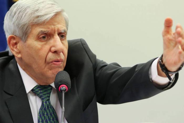 O Ministro-Chefe do Gabinete de Segurança Institucional da Presidência da República, General Augusto Heleno