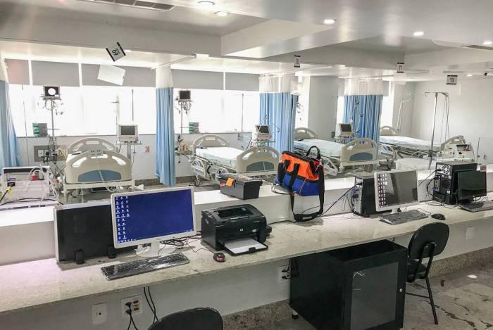 O Centro de Combate ao Coronavírus (CCC) de Campos tem 29 leitos de UTI