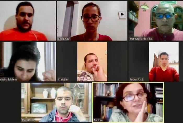 Equipe do Projeto Pedreira da Voldac realiza reunião através de plataforma digital