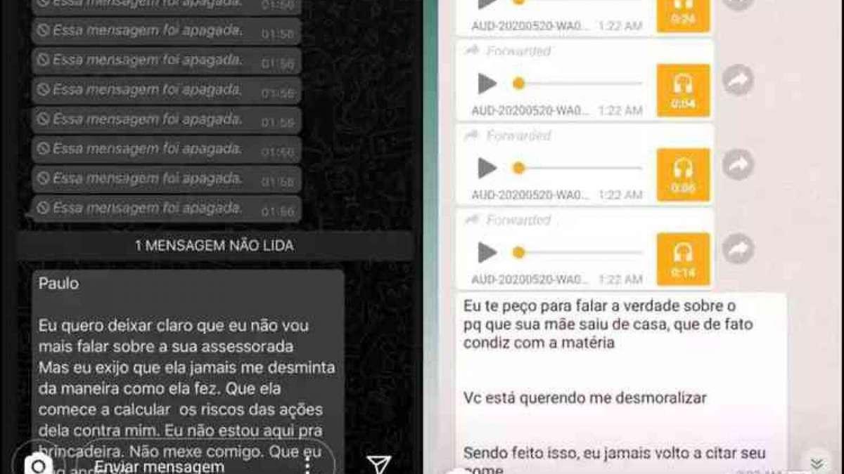 Anitta mostra prints das ameaças de Leo Dias a ela e a sua equipe