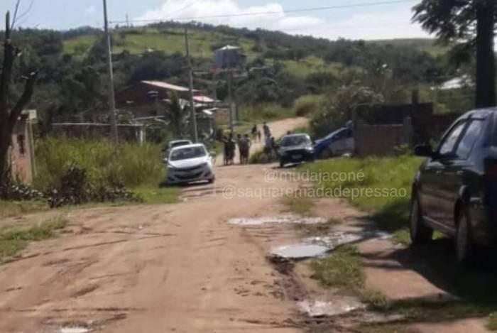 Corpo é encontrado na manhã desta segunda-feira (25) em Jaconé
