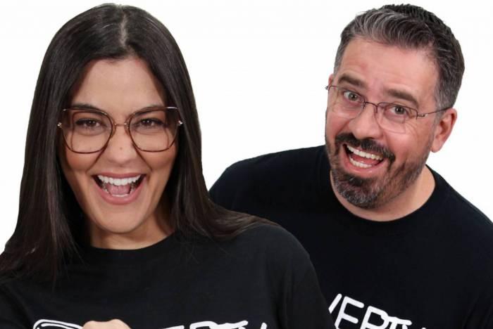 Tati Martins e Marcelo Carlos