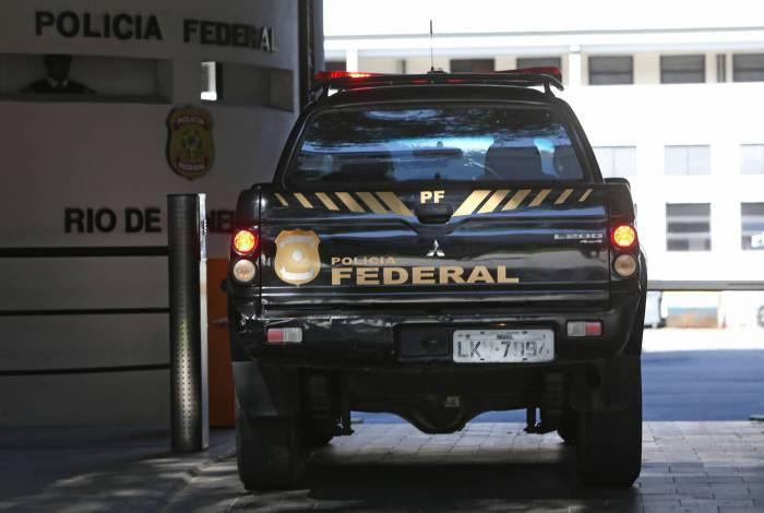 Rio 26 / 05 / 2020 - Covid-19 - Coronavirus - Sede da Policia Federal no Rio de Janeiro. Foto: Daniel Castelo Branco / Agencia O Dia