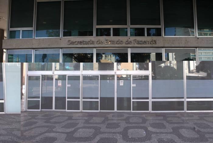 Rio, 26/05/2020  - COVID 19 - CORONAVIRUS - Opercao da Policia Federal na Secretaria de Estado de Fazenda, Centro do Rio. coronavirusrio. Foto: Ricardo Cassiano/Agencia O Dia