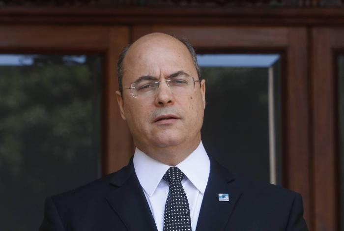 O governador Wilson Witzel terá dez sessões na Alerj para apresentar sua defesa contra o impeachment
