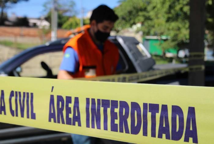 Prefeitura de Volta Redonda realiza ação de conscientização contra o novo coronavírus no bairro Roma I