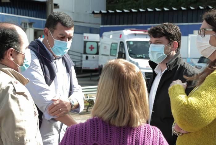 Unidade se encontra exatamente no meio do sistema de saúde do município, entre a UPA Centro, UPA Itaipava e o Hospital Alcides Carneiro