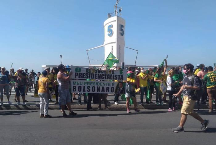 Manifestação causa confusão em ato pró e contra governo Bolsonaro
