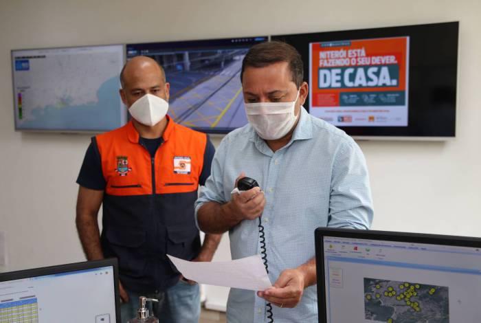 Além dos alertas de riscos e chuvas, as sirenes da Defesa Civil se tornaram ferramentas de comunicação direta com a comunidade sobre a pandemia
