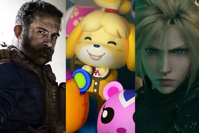 Call of Duty, Animal Crossing e Final Fantasy VII ocupam as três primeiras posições